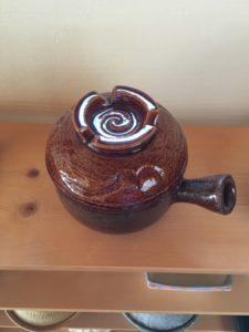 飴釉砂鍋1