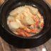 カニホタテご飯鍋