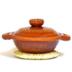 飴釉象嵌鍋